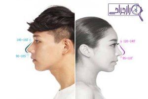 ویژگی های بینی مردانه