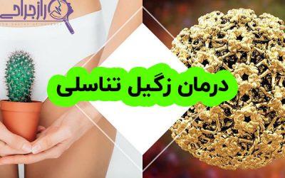 درمان زگیل تناسلی HPV